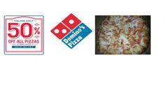 50% off Domino's Piz