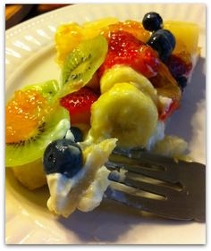Easy Fruit Pizza #recipe