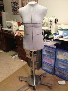 faire son mannequin maison - DIY dressform > Burdastyle.com