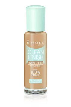Rimmel Clean Finish Matte Foundation