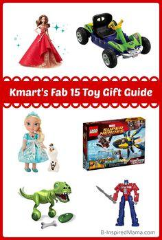 Holiday Gift Guide 2014: Kmart's Fab 15 Toy Wishlist #Sponsored #Fab15ToysCGC #kids #giftguide #kbn #binspiredmama