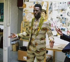 Ankara inspired suit (Photo) - YabaLeftOnline