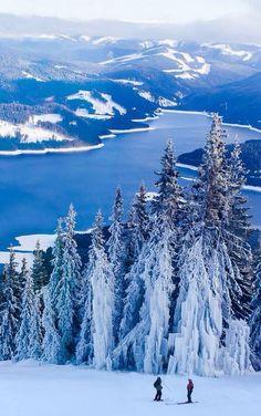 Did it snow last night or rain? Transalpina Ski Resort, Romania