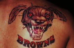 #nfl #tattoo #bad #inked #browns #cleveland