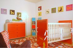 nursery idea, also more good ones at this site