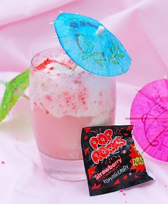 Pop Rocks Ice Cream Floats: Add a splash (or two) of vodka for a grown-up version of this recipe!