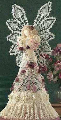 No pattern crochet angel