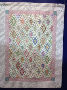 Hexagon Quilt Display