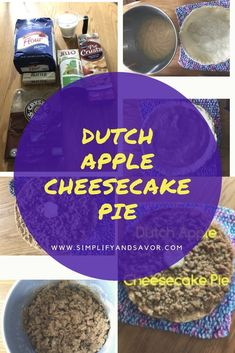 Dutch Apple Cheeseca