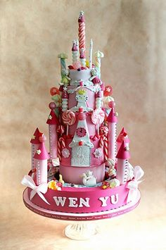 Rotating Hello Kitty Candy Palace by CforCupcake, via Flickr