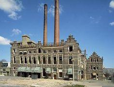 April 1984, De afbraak van het Wilhelmina Gasthuis in Amsterdam. ANPFOTO ALLARD BLAAUBOER
