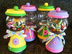 Gum Ball Machine Candy Bowls How-To