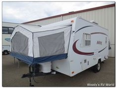 "This one is nice too (""RV - 2006 Forest River Rockwood Roo M-17  in RED DEER, AB  $11,980"")"