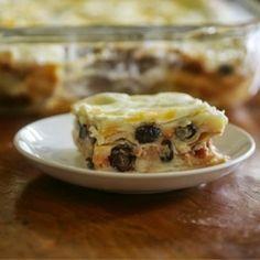 Breakfast Tortilla Strata recipe