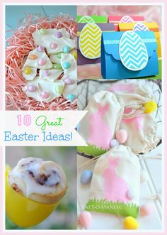 10 Great Easter Ideas #Easter #EasterCrafts
