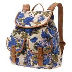 I want this in a satchel.//@Ashley King aldo mench, backpacks, fashion, school, style, floral print, accessori, floral backpack, bags