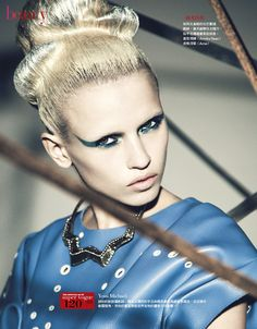 Beauty To Future | Anja Konstantinova | Yossi Michaeli #photography | Vogue Taiwan August 2012