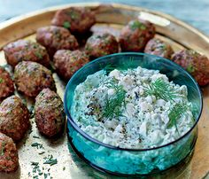 Easy Super Bowl Recipes: Minty Meatballs! It's not a football game without some kind of meaty dish. These pack a wallop of flavor that feed your hungriest gridiron gang.