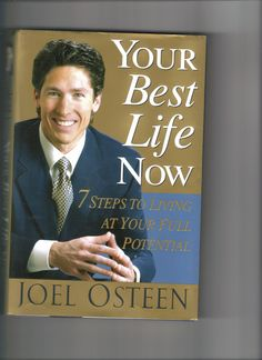 I love reading this book by Joel Osteen; Inspirational and devotional
