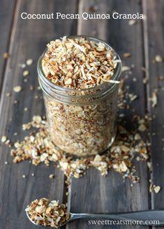 Quinoa Pecan Granola