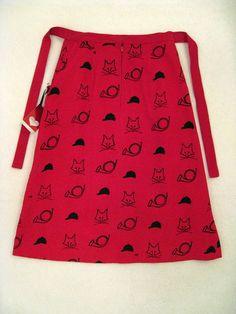 Fox Hunt: 1960s Vested Gentress Printed Skirt Small Red Corduroy Fox Hunt Very RARE Mod | eBay