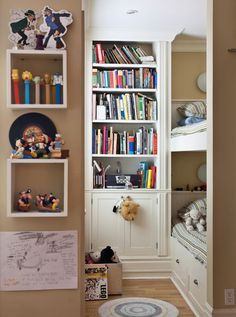 bunks make use of small space