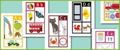 alphabet posters free printable