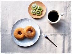 Doughnut and coffee: ranmama-kitchen **