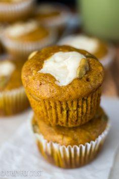 Pumpkin Cream Cheese Muffins ~ Starbucks Copycat! #copycat recipe