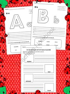 FREEBIE - Alphabet Tracing & Review product from mzmary on TeachersNotebook.com just register for a free account and download for free!