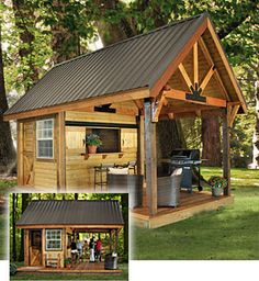 Outdoor Workshop On Pinterest Shipping Containers