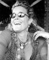 Berry Berenson sister of Marissa Berenson and wife of the late Anthony Perkins died in one of the crashes of 9/11 along with so many other wonderful people... 9/11/01  God Rest Their souls...