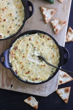 Spicy Jalapeno Crab Dip from @Cassie Laemmli | Bake Your Day