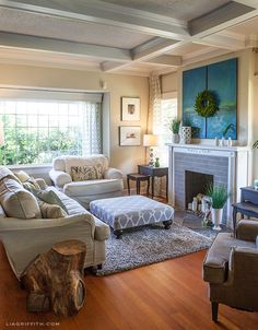 My Home Tour: The Living Room