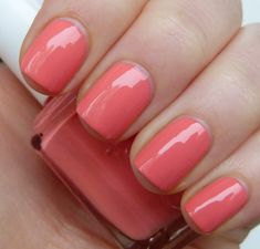 Essie - Tart Deco Another great coral for summer pedis!!