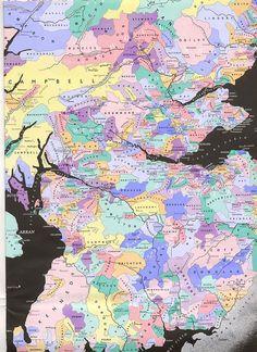 Scottish Clans Map ancestri, clan map, celtic, maps, scottish clan, map of scotland, famili histori, ancestor, genealog