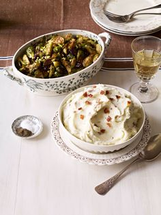 Brussels Sprouts with Cherries and Pistachios #thanksgiving #sides #holiday #family