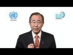 Test. Treat. Track.  A video of UN Secretary Ban Ki-Moon on malaria.  For more information about how Reach Global helps educate women and girls on health: www.reach-global.org And to donate: is.gd/Hh6pmC kimoon messag