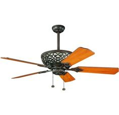 Kichler 300113 Transitional Indoor 52 Inch 5 Blade Ceiling Fan from the Cortez Collection $379