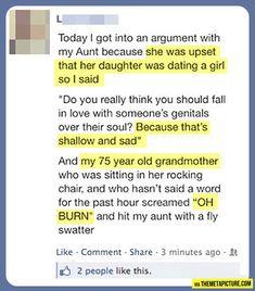 Grandma is a badass!<--yes she is