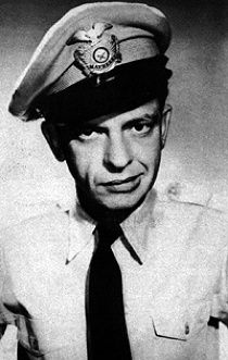 Barney Fife of 'The Andy Griffith Show'.