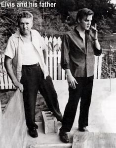 Elvis and Vernon, His Dad
