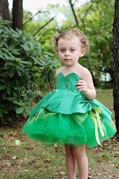 Tinkerbell Inspired Toddler Costume