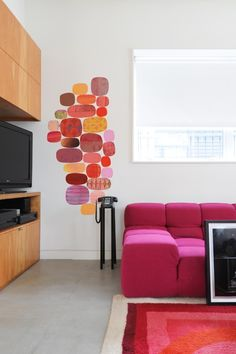 Blik Wall Decals: Radiant Velocity by Rex Ray