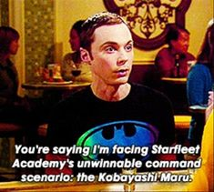 funny big bang theory pictures, sheldon cooper star trek