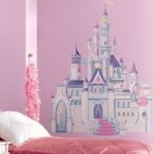 Giant Disney Princess Castle Wall Decal 40in- Wall Decals- Birthday Decorations- Girls Birthday- Birthday Party Supplies - Party City