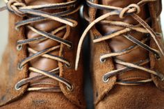 Laces men styles, cottag, men clothingapparel, leather boots, leather lace, viberg boot, brown boots, girls shoes, style fashion