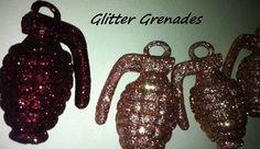 Dollar Store DIY Glitter Grenades