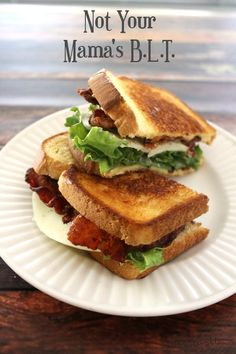 Not Your Mama's BLT / White Lights on Wednesday
