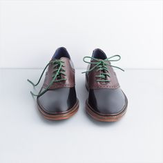 Classic leather oxfords. #shoes